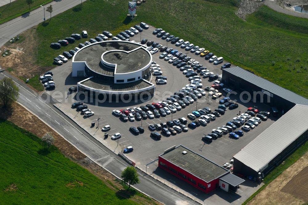Autogalerie Villingen Schwenningen aerial image villingen-schwenningen - car dealership building of