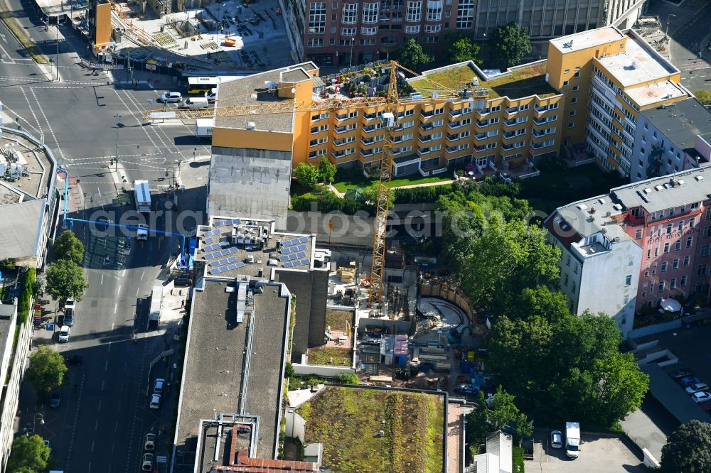 Aerial Photograph Berlin Construction Site For The New
