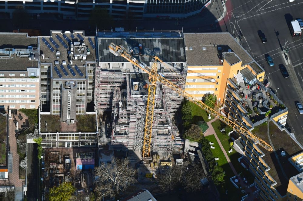 Berlin From The Bird S Eye View Construction Site For The