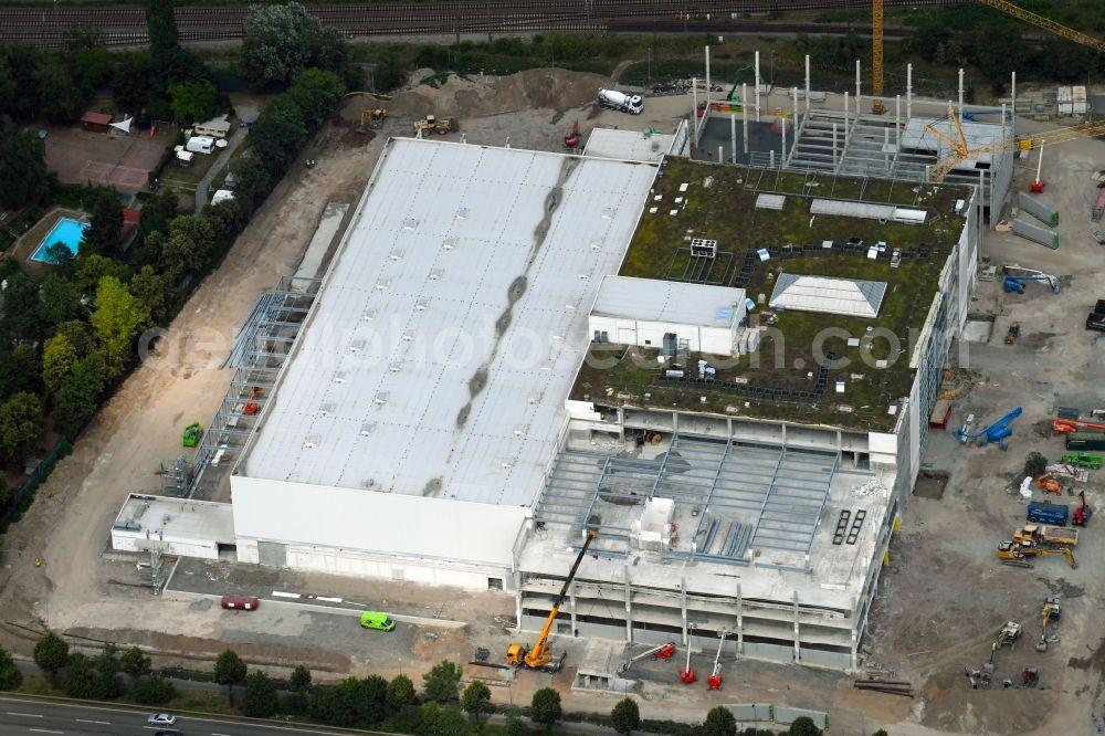 Aerial Photograph Schwetzingen Construction Of The Building Store