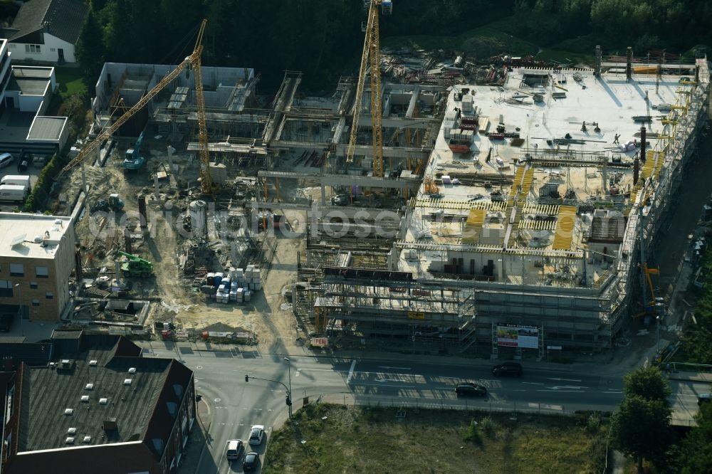 87023df0c3669f Aerial photograph Cloppenburg - Construction site for the new building  complex of the shopping center Carre Cloppenburg ...