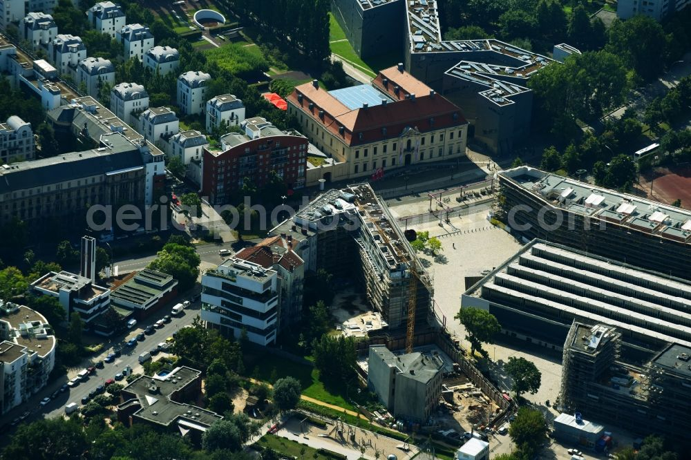 Heide Beckerath berlin from the bird s eye view construction site for the