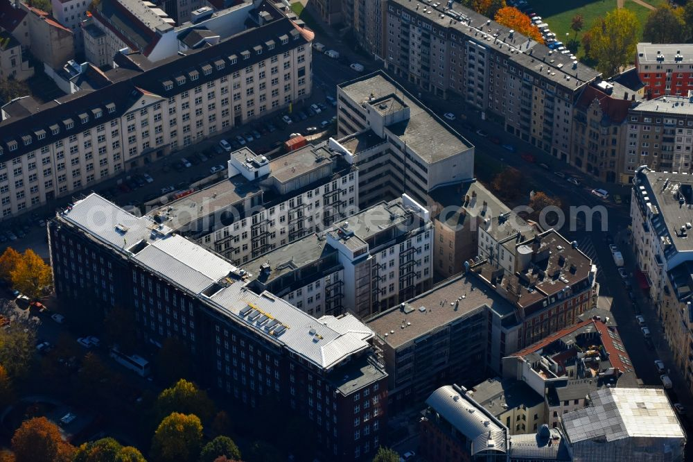 Metropolpark Berlin aerial photograph berlin - construction for the reconstruction and
