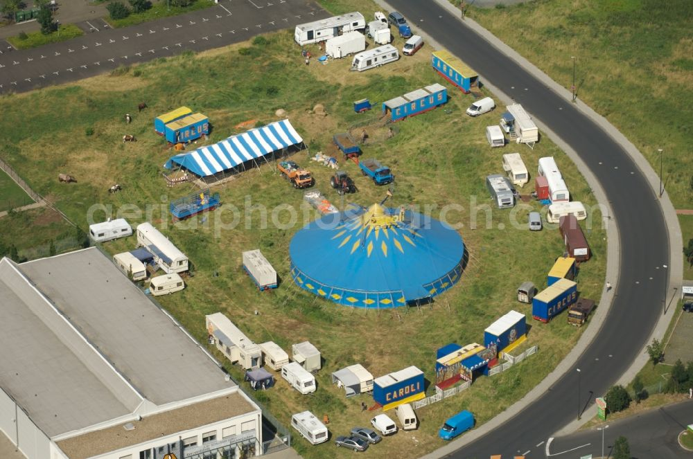 Koln From The Bird S Eye View Circus Tent Domes Of The Circus