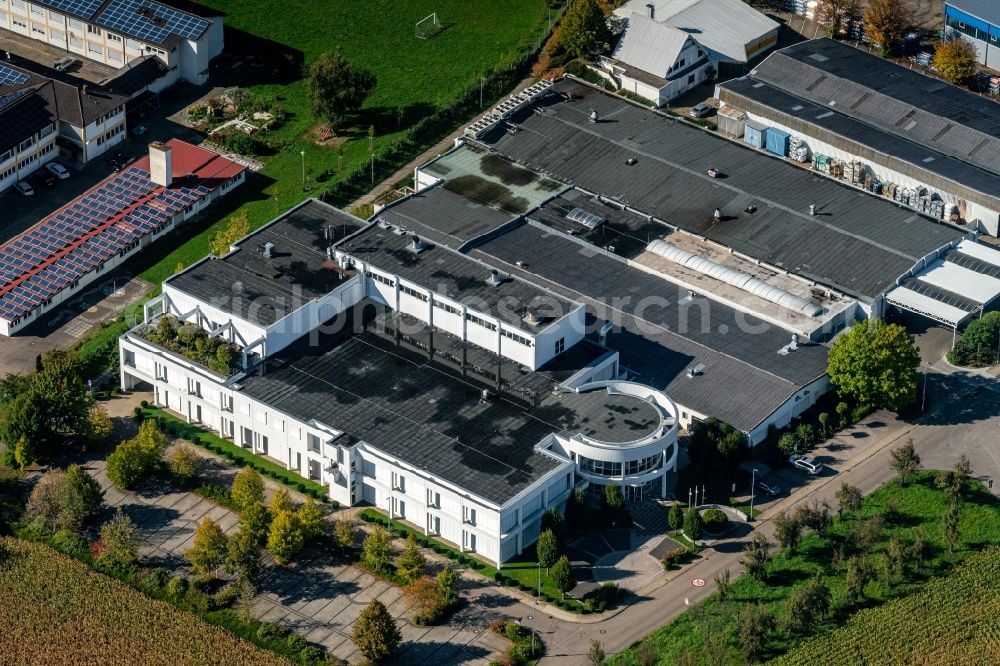 Aerial image Kippenheim - Company grounds and facilities of janoschka in Kippenheim in the state Baden-Wurttemberg, Germany