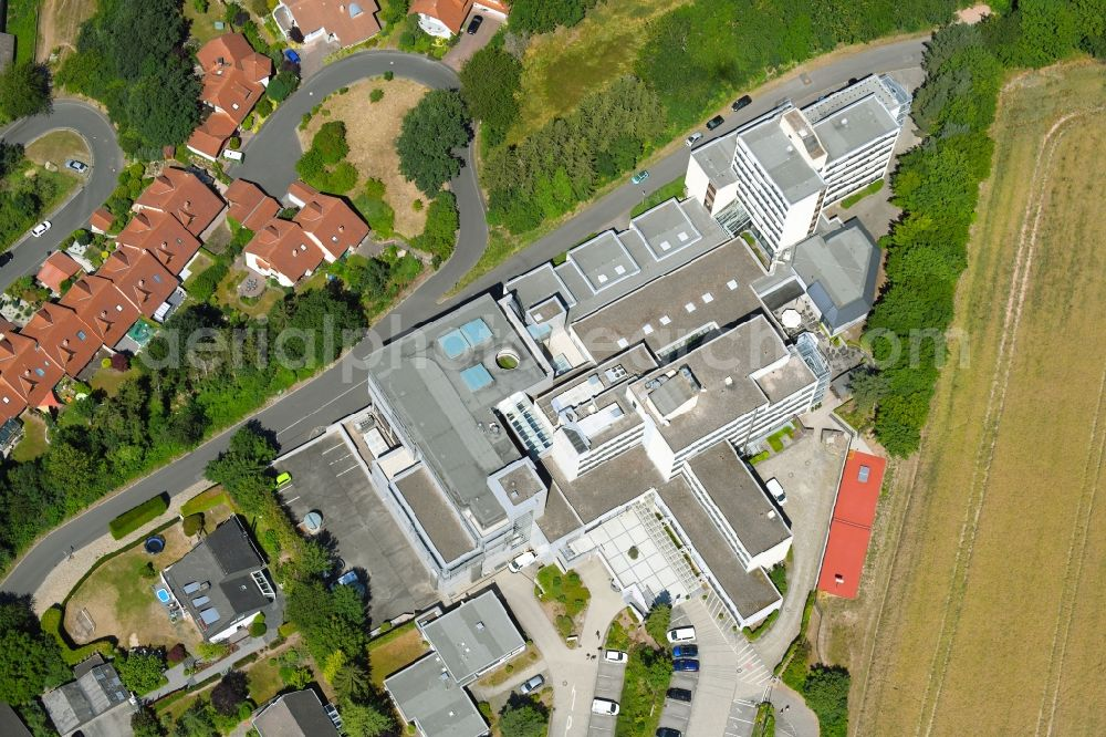 Aerial image Rotenburg an der Fulda - Building complex of the education and training center of BKK Akademie in Rotenburg an der Fulda in the state Hesse, Germany