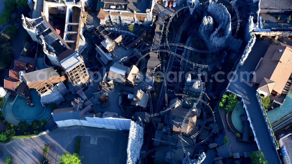 Aerial image Brühl - Grounds of the Phantasialand theme park in Bruehl in the Rhineland in the state of North Rhine-Westphalia