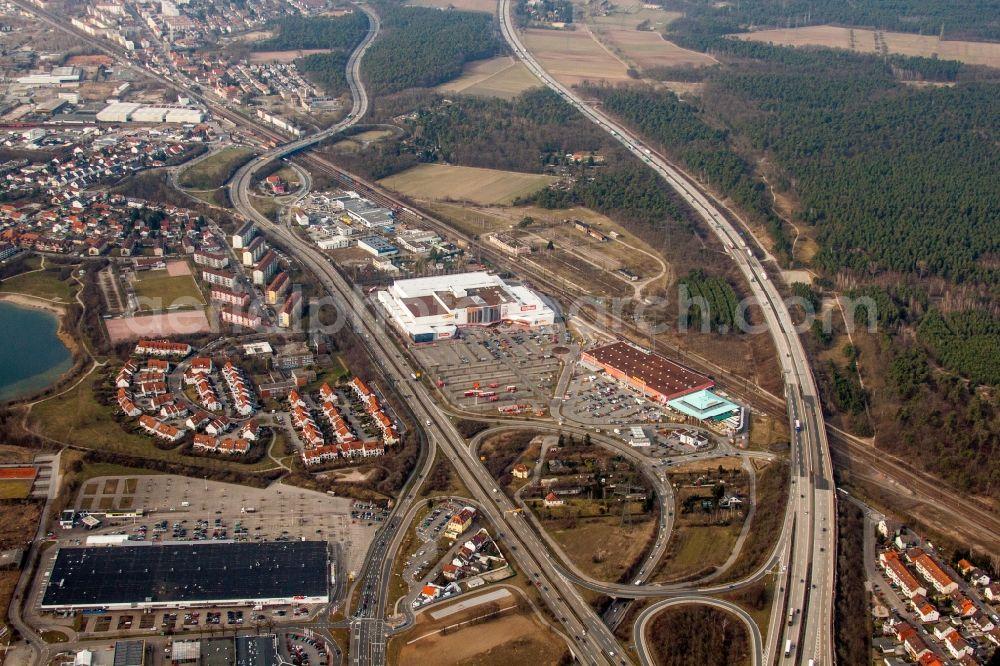 Schwetzingen From The Bird S Eye View Industrial Estate And Company