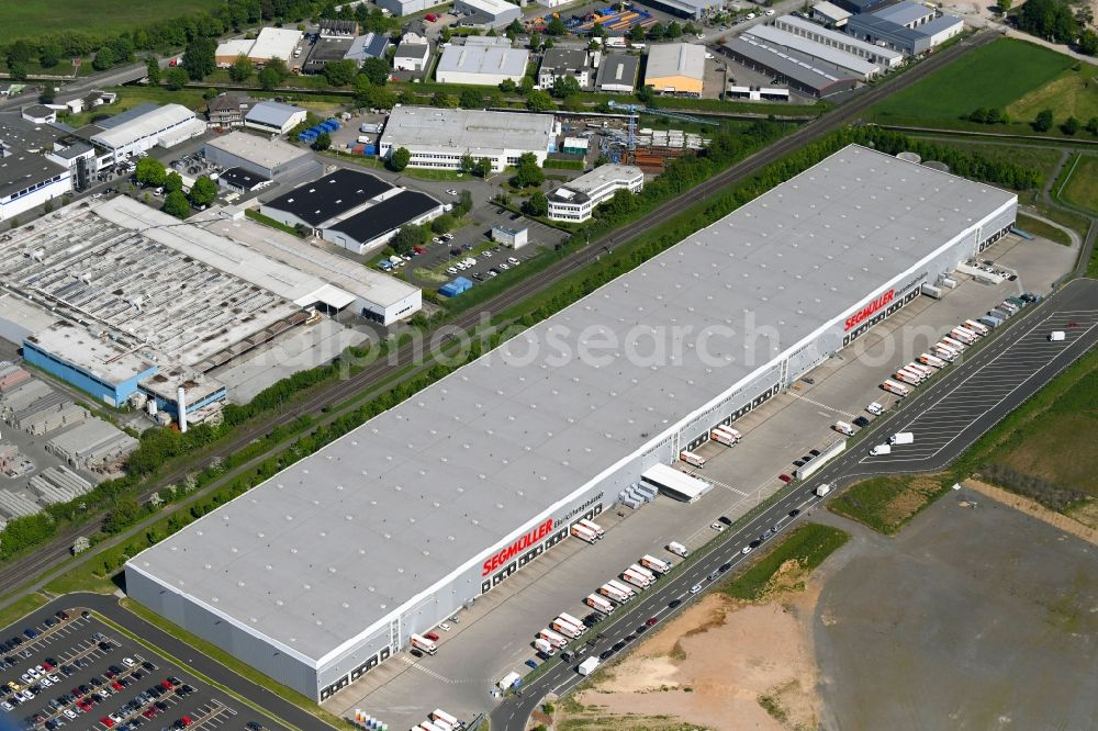 Aerial Photograph Pulheim Warehouses And Forwarding Building Of
