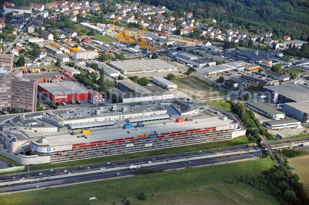 156937b418d8 Weiterstadt from above - Loop 5 Shopping Center in Weiterstadt in the state  Hesse.