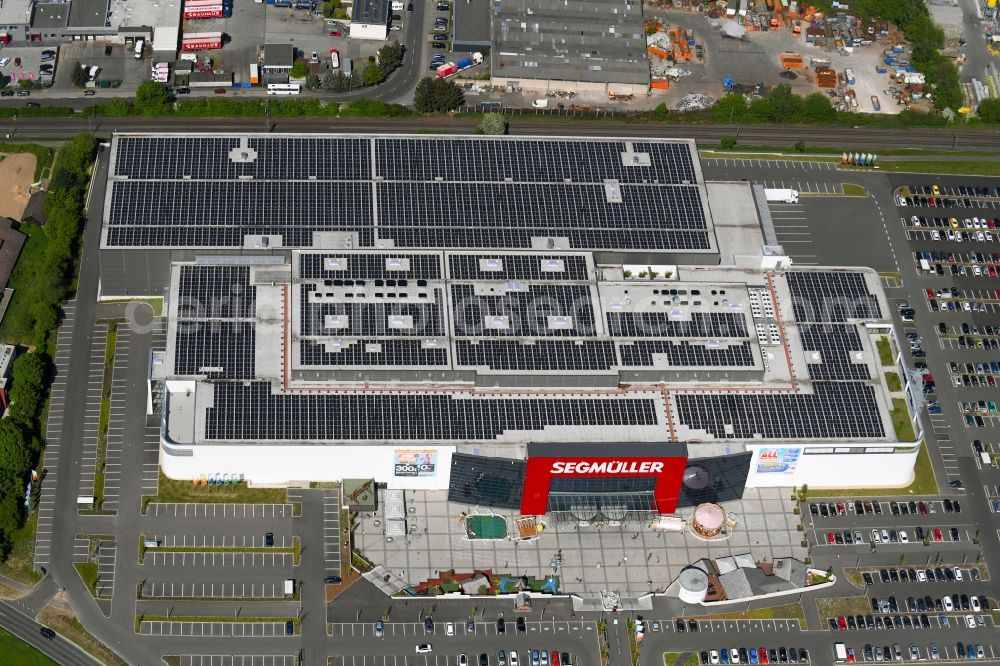 Aerial Image Pulheim Building Of The Store Furniture Market