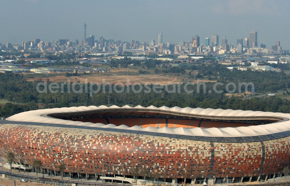 Aerial photograph Johannesburg - Sports facility grounds of