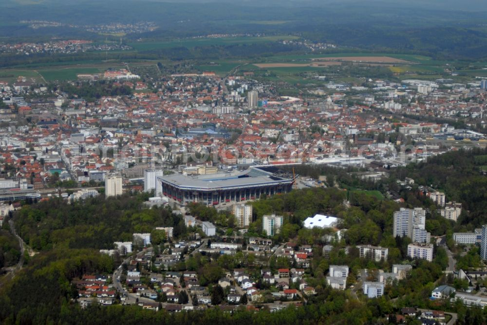 Kaiserslautern From The Bird S Eye View Sports Facility Grounds Of