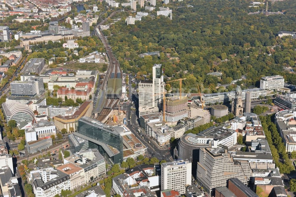 Berlin From The Birds Eye View View Of The Area In The South Of