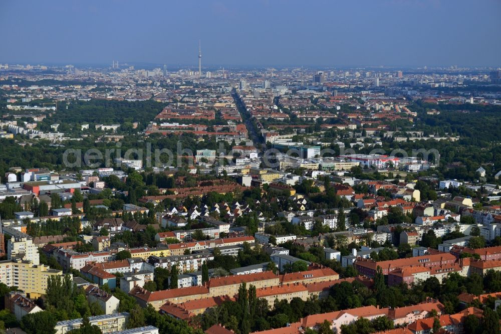 Aerial Photograph Berlin Reinickendorf Partial View Of The City
