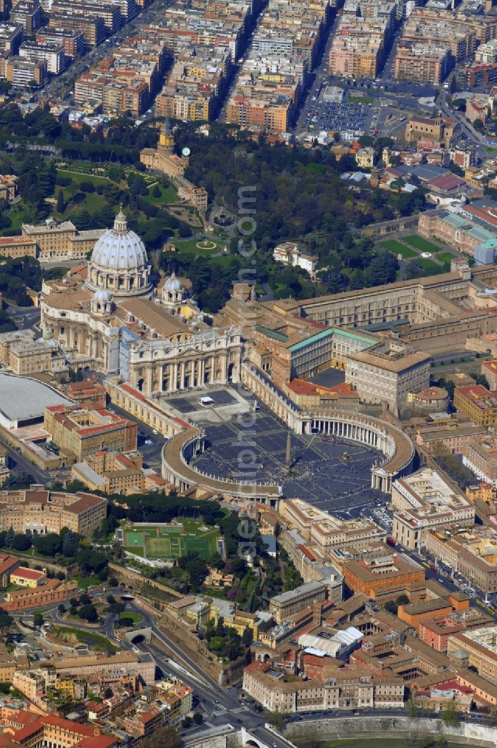 Vatican In Vatican City With St