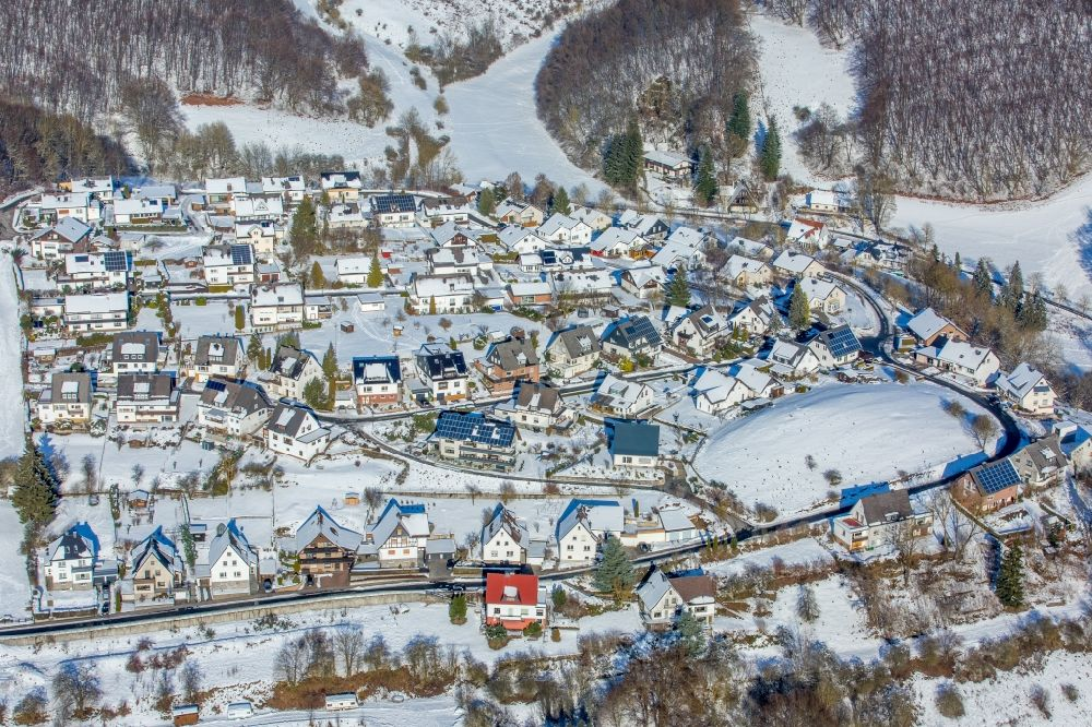 Remarkable Brilon From Above Wintry Snowy Town View Of The Streets Interior Design Ideas Skatsoteloinfo