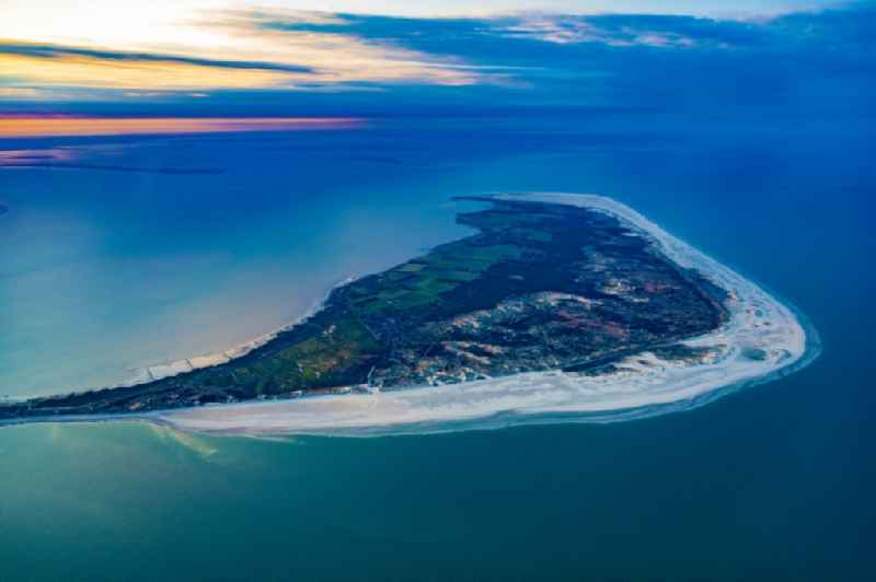 Coastal area of a??a??the North Frisian North Sea island Amrum in the state Schleswig-Holstein, Germany