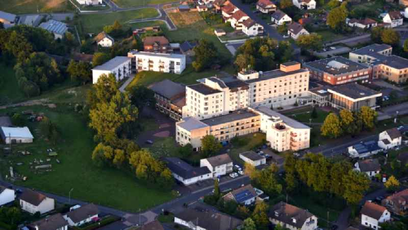 DRK Kamillus clinic in Asbach in the state Rhineland-Palatinate, Germany