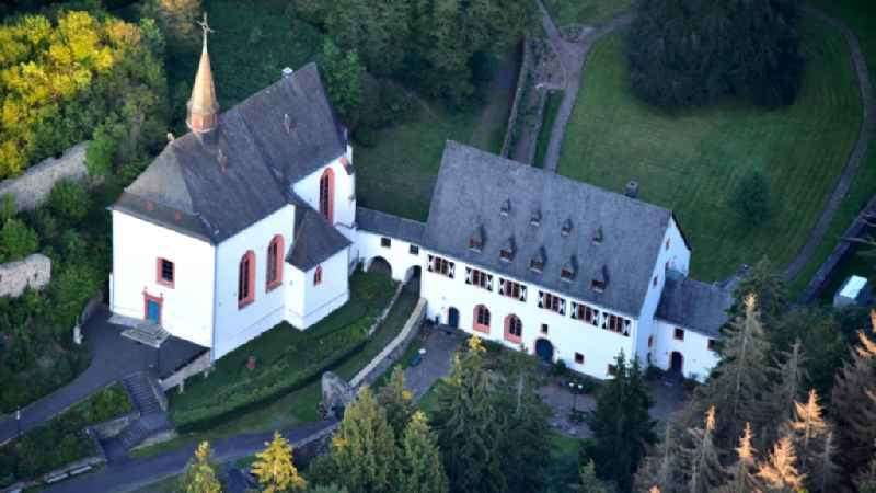 Ehrenstein Monastery and Castle in Asbach in the state Rhineland-Palatinate, Germany