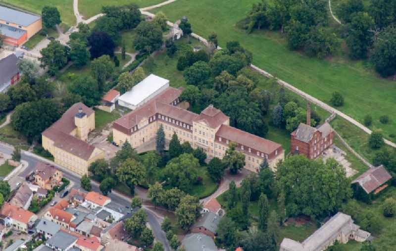 Palace in Barby (Elbe) in the state Saxony-Anhalt, Germany