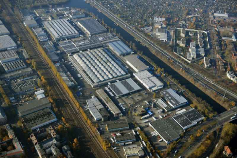 View of at the site of the Berlin wholesale market at the Beusselstrasse in Berlin