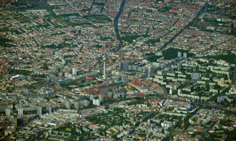 The city center in the downtown area in Berlin, Germany