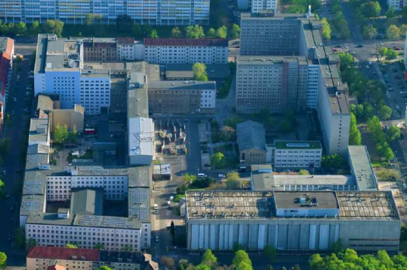 Building complex of the Memorial of the former Stasi Ministry for State Security of the GDR in the Ruschestrasse in Berlin Lichtenberg