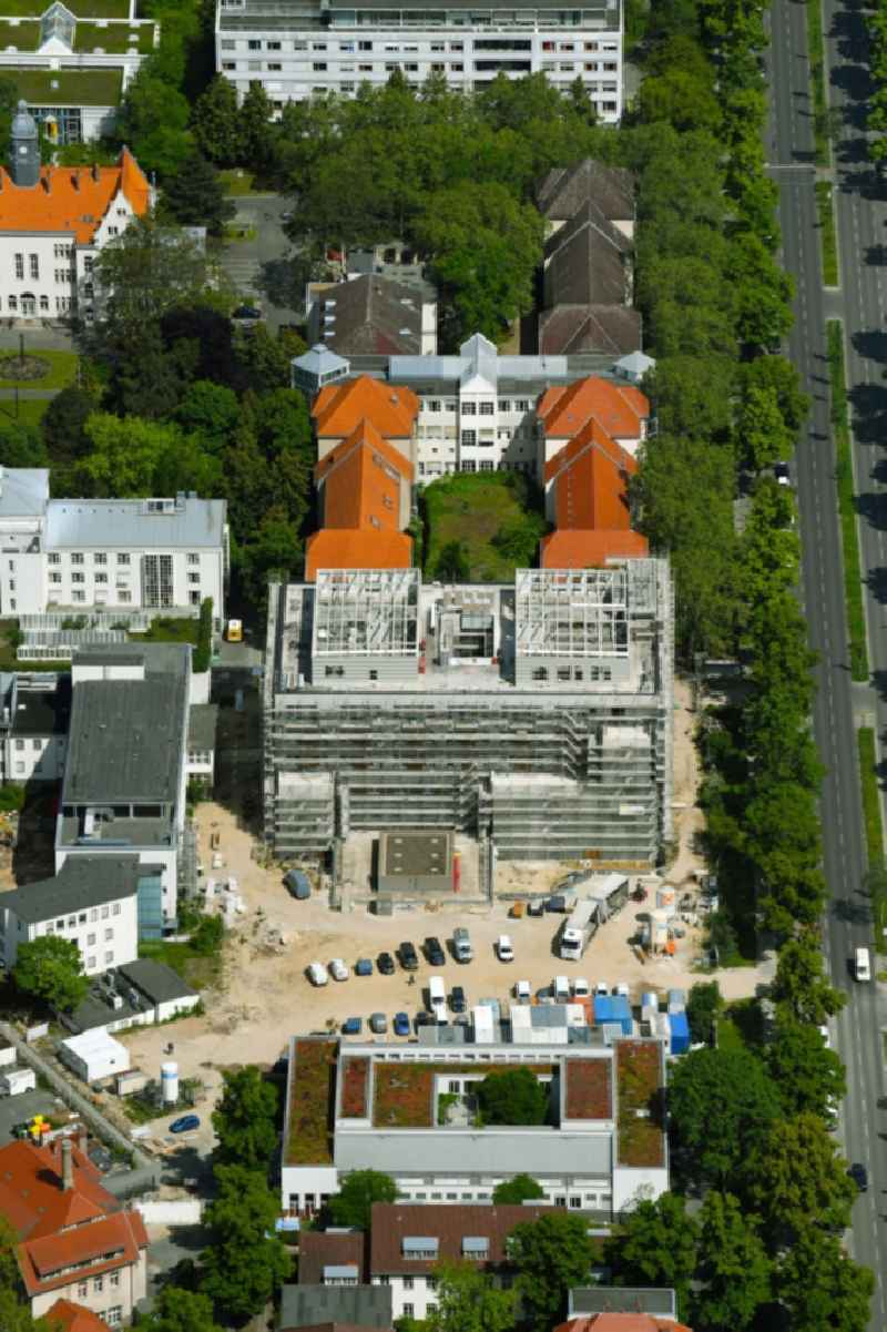 Construction site for a new extension to the hospital grounds ' Vivantes Auguste-Viktoria-Klinikum ' in the district Schoeneberg in Berlin, Germany
