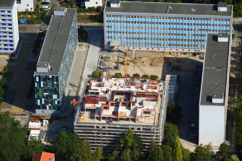 New construction site Administrative buildings of the state authority ' Bundesverwaltungsamt ' on Gotlindestrasse in the district Lichtenberg in Berlin, Germany