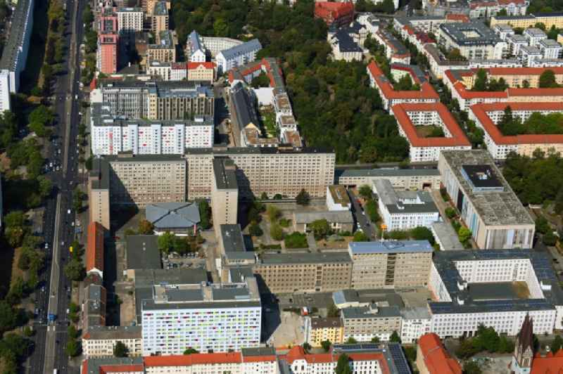 Building complex of the Stasi memorial of the former MfS Ministry for State Security of the GDR in the district Lichtenberg in Berlin, Germany
