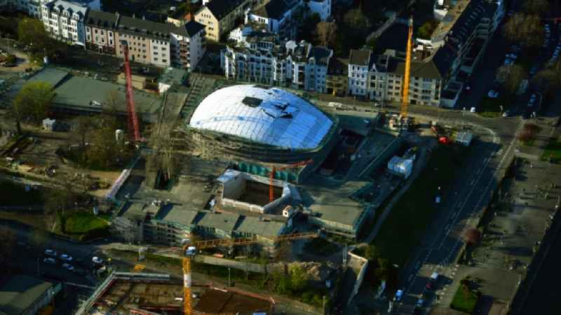 Renovation of the building of the indoor arena ' Beethovenhalle Bonn ' in the district Zentrum in Bonn in the state North Rhine-Westphalia, Germany