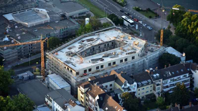 New construction site the hotel complex ' Prizeotel ' in Bonn in the state North Rhine-Westphalia, Germany