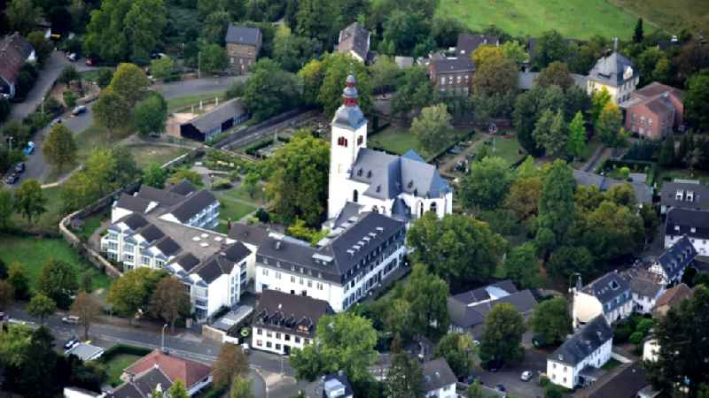 Parish Church of St. Peter in Vilich in the state North Rhine-Westphalia, Germany