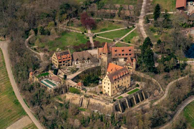 Palace Stocksberg in Brackenheim in the state Baden-Wuerttemberg, Germany