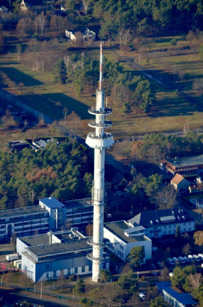 Television Tower in Cottbus in the state Brandenburg, Germany