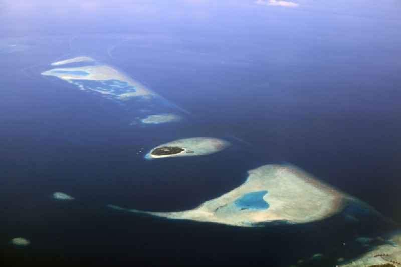 Archipelagos in coastal areas of the Indian Ocean in Dhahran Boodhoo in Central Province, Maldives