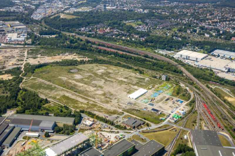 Development area of the industrial chain on the site of the former Westfalenhuette in Dortmund, North Rhine-Westphalia