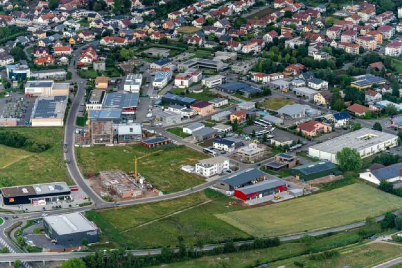 Industrial estate and company settlement Radackern 4, in Ettenheim in the state Baden-Wurttemberg, Germany