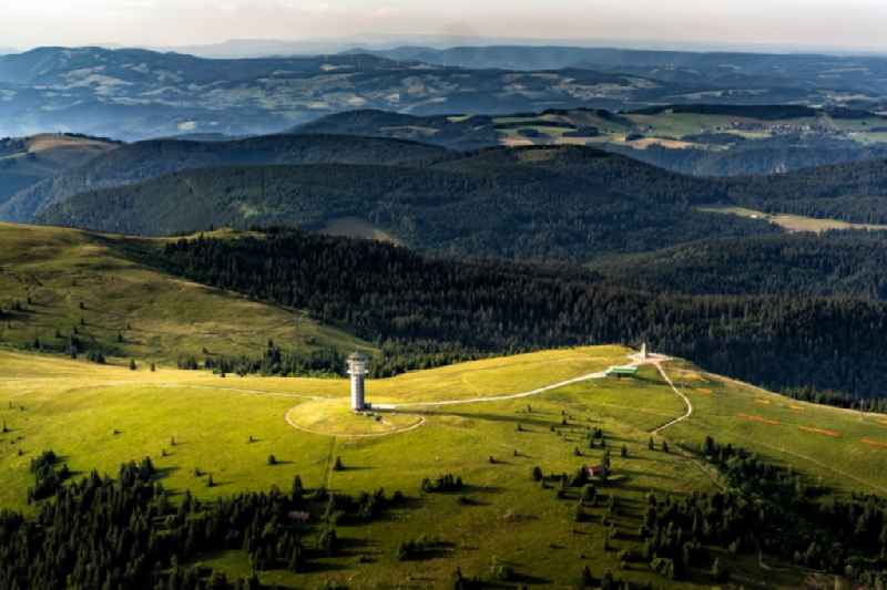 Rocky and mountainous landscape in Feldberg (Schwarzwald) in the state Baden-Wurttemberg, Germany.