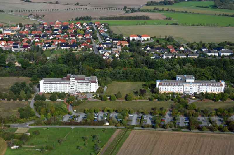 Hospital grounds of the rehabilitation center in Flechtingen in the state Saxony-Anhalt, Germany