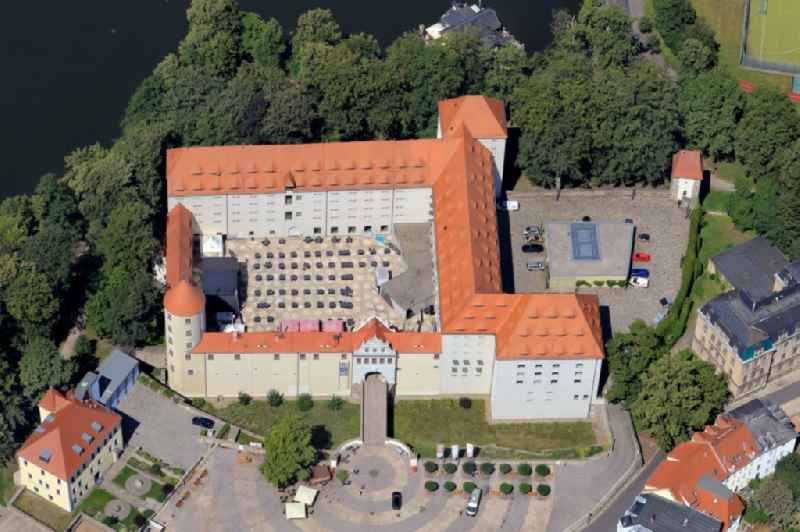 Castle of Freudenstein in Freiberg in the state Saxony, Germany