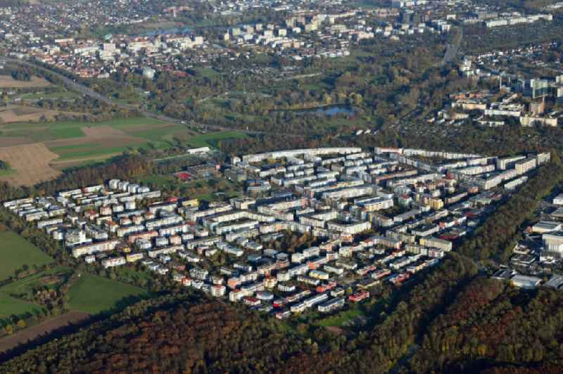 District Rieselfeld in the city in Freiburg im Breisgau in the state Baden-Wurttemberg.