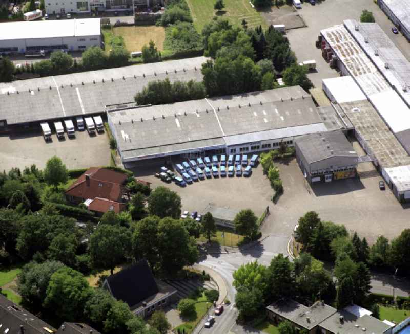 Company grounds and facilities of Wolter Sanitaer-Heizung-Klima GmbH on Middelicher Strasse in the district Resse in Gelsenkirchen in the state North Rhine-Westphalia, Germany