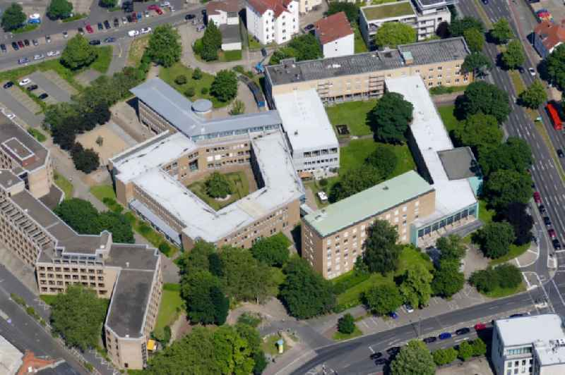 Court- Building complex of the Amtsgerichtes in Goettingen in the state Lower Saxony, Germany