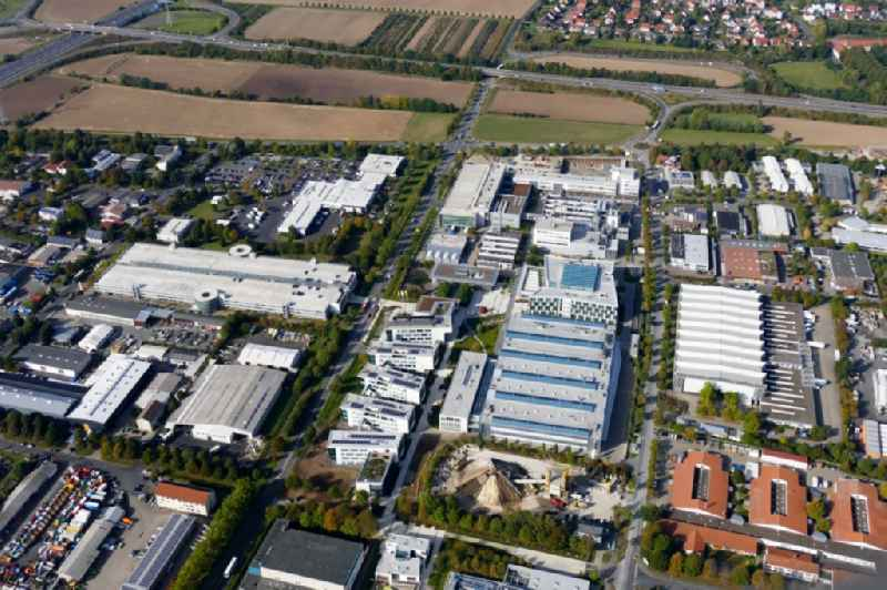 Building and production halls on the premises of Sartorius AG in Goettingen in the state Lower Saxony, Germany