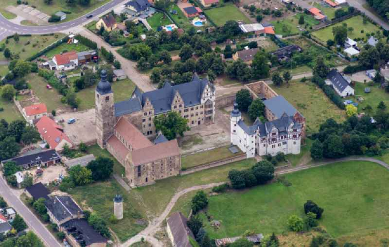 Palace in Gommern in the state Saxony-Anhalt, Germany