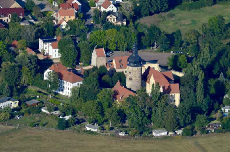 Building and castle park systems of water castle ' Hotel and Gasthof Wasserburg zu Gommern ' in Gommern in the state Saxony-Anhalt, Germany