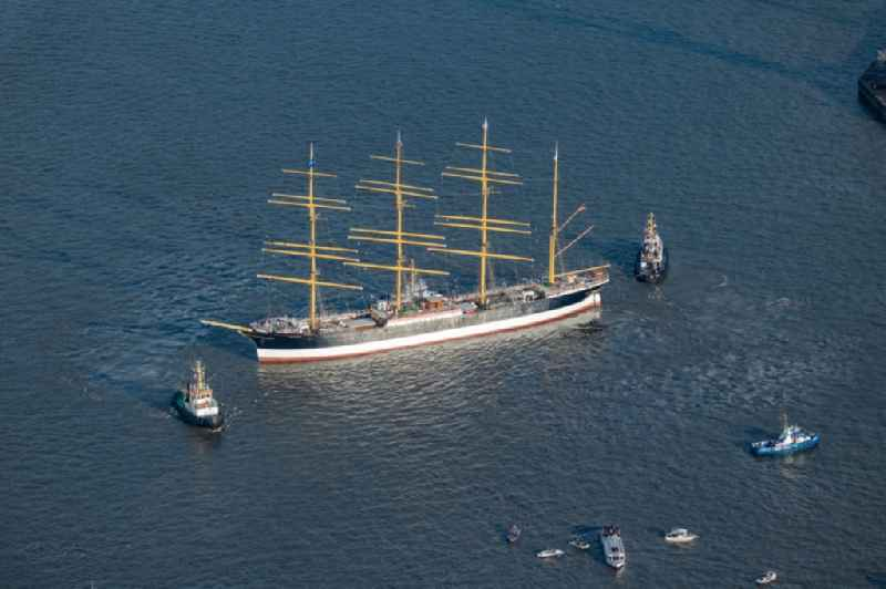 Sailing ship and four-masted barque a