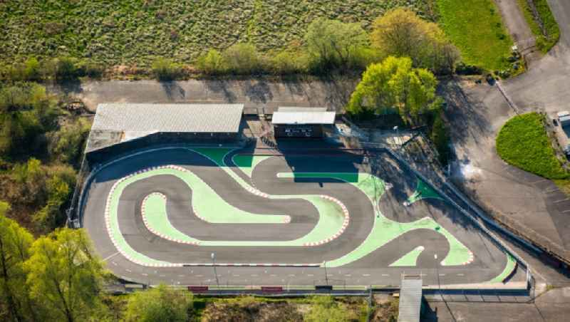Modell car racing track AMC in the district of Uentrop near Hamm in the Ruhr area in the state of North Rhine-Westphalia
